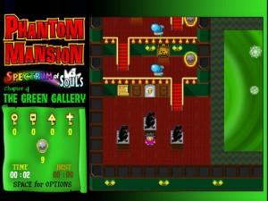 Онлайн игра Замок с привидениями 4 (Phantom Mansion Chapter 4 The Green Gallery) (изображение №4)