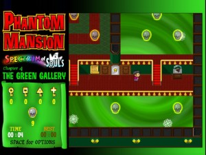 Онлайн игра Замок с привидениями 4 (Phantom Mansion Chapter 4 The Green Gallery) (изображение №5)