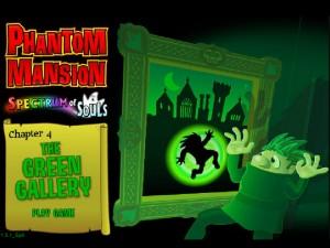 Онлайн игра Замок с привидениями 4 (Phantom Mansion Chapter 4 The Green Gallery) (изображение №1)