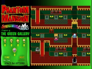 Онлайн игра Замок с привидениями 4 (Phantom Mansion Chapter 4 The Green Gallery) (изображение №7)