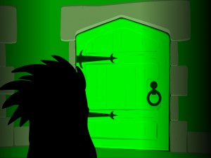 Онлайн игра Замок с привидениями 4 (Phantom Mansion Chapter 4 The Green Gallery) (изображение №2)