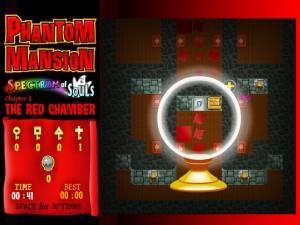 Онлайн игра Замок с привидениями 1 (Phantom mansion Chapter 1 The Red Chamber) (изображение №3)