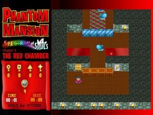 Онлайн игра Замок с привидениями 1 (Phantom mansion Chapter 1 The Red Chamber) (изображение №7)