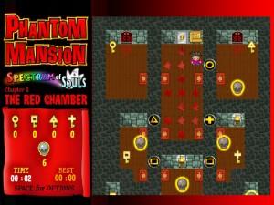 Онлайн игра Замок с привидениями 1 (Phantom mansion Chapter 1 The Red Chamber) (изображение №8)