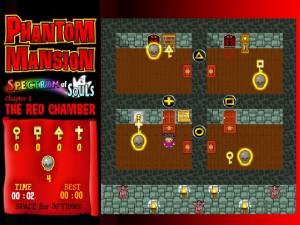 Онлайн игра Замок с привидениями 1 (Phantom mansion Chapter 1 The Red Chamber) (изображение №6)