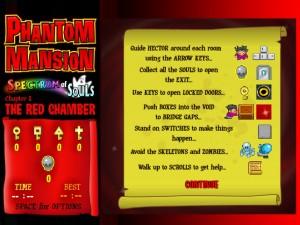 Онлайн игра Замок с привидениями 1 (Phantom mansion Chapter 1 The Red Chamber) (изображение №4)