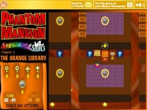 Онлайн игра Замок с привидениями 2 (Phantom Mansion Chapter 2 The Orange Library) (изображение №6)