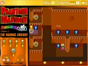 Онлайн игра Замок с привидениями 2 (Phantom Mansion Chapter 2 The Orange Library) (изображение №7)