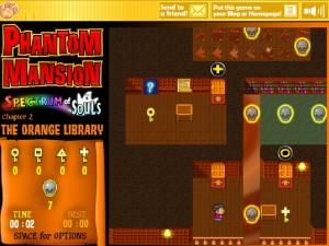 Онлайн игра Замок с привидениями 2 (Phantom Mansion Chapter 2 The Orange Library) (изображение №8)