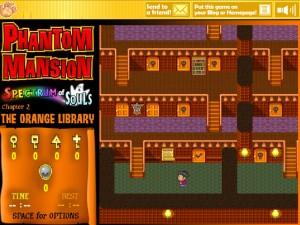 Онлайн игра Замок с привидениями 2 (Phantom Mansion Chapter 2 The Orange Library) (изображение №9)
