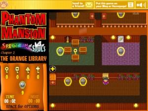 Онлайн игра Замок с привидениями 2 (Phantom Mansion Chapter 2 The Orange Library) (изображение №10)