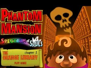 Онлайн игра Замок с привидениями 2 (Phantom Mansion Chapter 2 The Orange Library) (изображение №1)