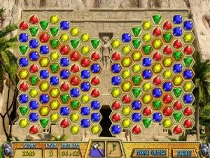 Онлайн игра Древние драгоценности Клеопатры  (ANCIENT JEWELS 3: CLEOPATRA) (изображение №3)