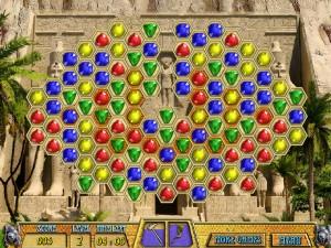 Онлайн игра Древние драгоценности Клеопатры  (ANCIENT JEWELS 3: CLEOPATRA) (изображение №4)