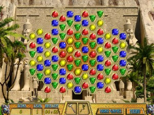 Онлайн игра Древние драгоценности Клеопатры  (ANCIENT JEWELS 3: CLEOPATRA) (изображение №6)