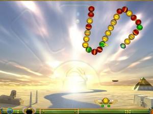 Онлайн игра Луксор  (Luxor) (изображение №2)