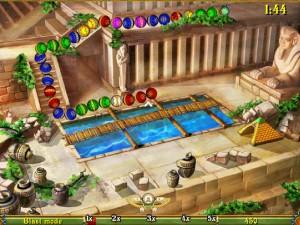 Онлайн игра Луксор  (Luxor) (изображение №4)
