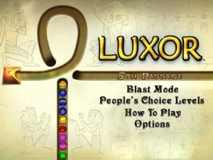 Онлайн игра Луксор  (Luxor) (изображение №5)