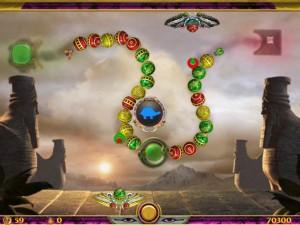 Онлайн игра Люксор Зума  (Luxor Zuma) (изображение №2)
