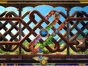 Онлайн игра Люксор Зума  (Luxor Zuma) (изображение №3)