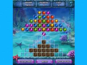 Онлайн игра Морские сокровища  (SEA TREASURE MATCH) (изображение №2)