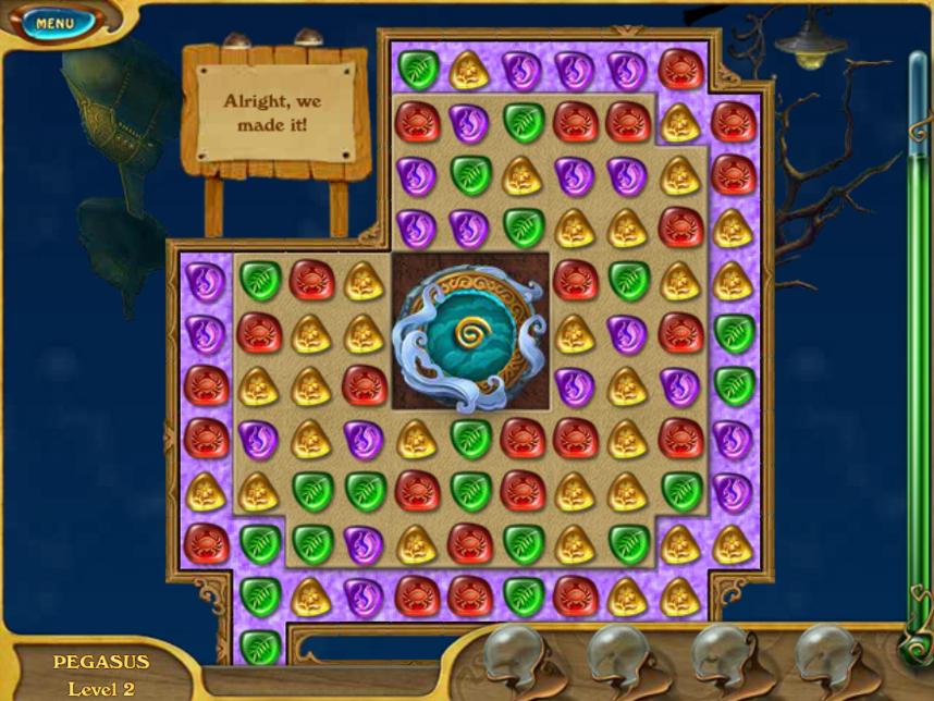 Игра Сокровища Атлантиды онлайн (Jewel of Atlantis ...
