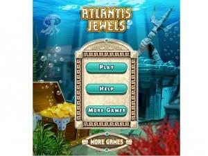Онлайн игра ДРАГОЦЕННОСТИ АТЛАНТИДЫ (ATLANTIS JEWELS) (изображение №2)