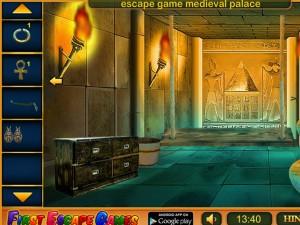 Онлайн игра Побег из Древнеегипетского Храма (Ancient Egyptian Temple Escape) (изображение №2)