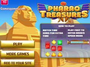 Онлайн игра Сокровища Фараона  (PHARAO TREASURES) (изображение №2)