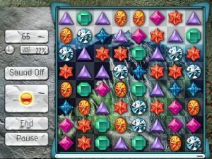 Онлайн игра Поиск кристалла  (JEWEL SEARCH) (изображение №2)