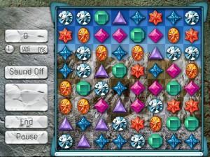 Онлайн игра Поиск кристалла  (JEWEL SEARCH) (изображение №4)