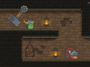 Сломанный Рог в подземелье
