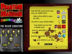 Онлайн игра Замок с привидениями 5 (Phantom Mansion 5 The Black Sanctum) (изображение №3)