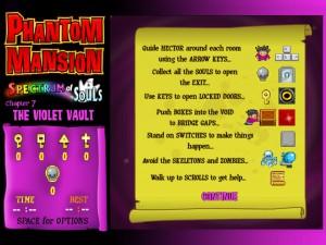 Онлайн игра Замок с привидениями 7 (Phantom Mansion Chpater 3 The Violet Vault) (изображение №3)