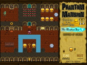 Онлайн игра Охота за сокровищами в Аравийском море (Phantom Mansion 2 The Arabian Sea) (изображение №4)