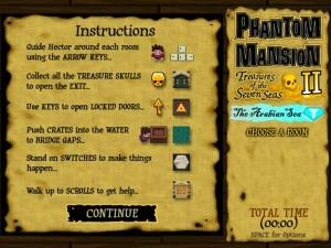 Онлайн игра Охота за сокровищами в Аравийском море (Phantom Mansion 2 The Arabian Sea) (изображение №7)