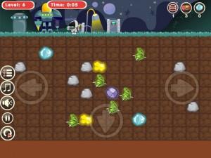 Онлайн игра Космический землекоп  (Astrodigger) (изображение №2)