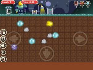 Онлайн игра Космический землекоп  (Astrodigger) (изображение №3)