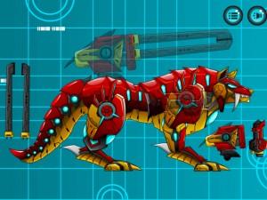 Онлайн игра Боевой Робот Волк (Battle Robot Wolf Age) (изображение №9)
