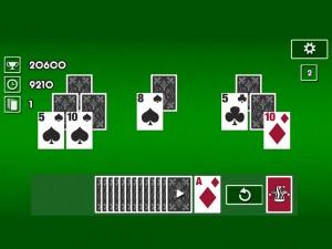 Онлайн игра Пасьянс Классический Три Пики (Tri Peaks Solitaire Classic) (изображение №4)