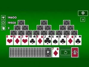 Онлайн игра Пасьянс Классический Три Пики (Tri Peaks Solitaire Classic) (изображение №2)