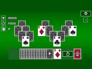 Онлайн игра Пасьянс Классический Три Пики (Tri Peaks Solitaire Classic) (изображение №5)
