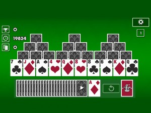 Онлайн игра Пасьянс Классический Три Пики (Tri Peaks Solitaire Classic) (изображение №6)