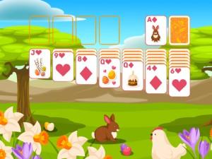 Онлайн игра Пасьянс Классический, Пасха  (Solitaire Classic Easter) (изображение №2)