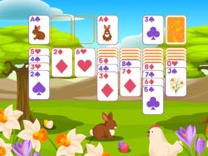 Онлайн игра Пасьянс Классический, Пасха  (Solitaire Classic Easter) (изображение №4)