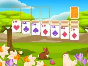 Онлайн игра Пасьянс Классический, Пасха  (Solitaire Classic Easter) (изображение №5)