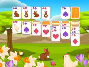 Онлайн игра Пасьянс Классический, Пасха  (Solitaire Classic Easter) (изображение №6)