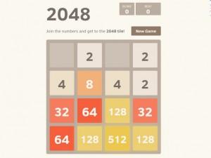 Онлайн игра 2048 (изображение №3)