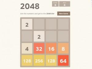 Онлайн игра 2048 (изображение №4)