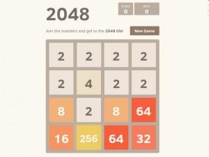 Онлайн игра 2048 (изображение №5)